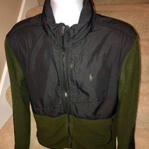 Pop by Ralph Lauren PolarTec zip fleece jacket - M